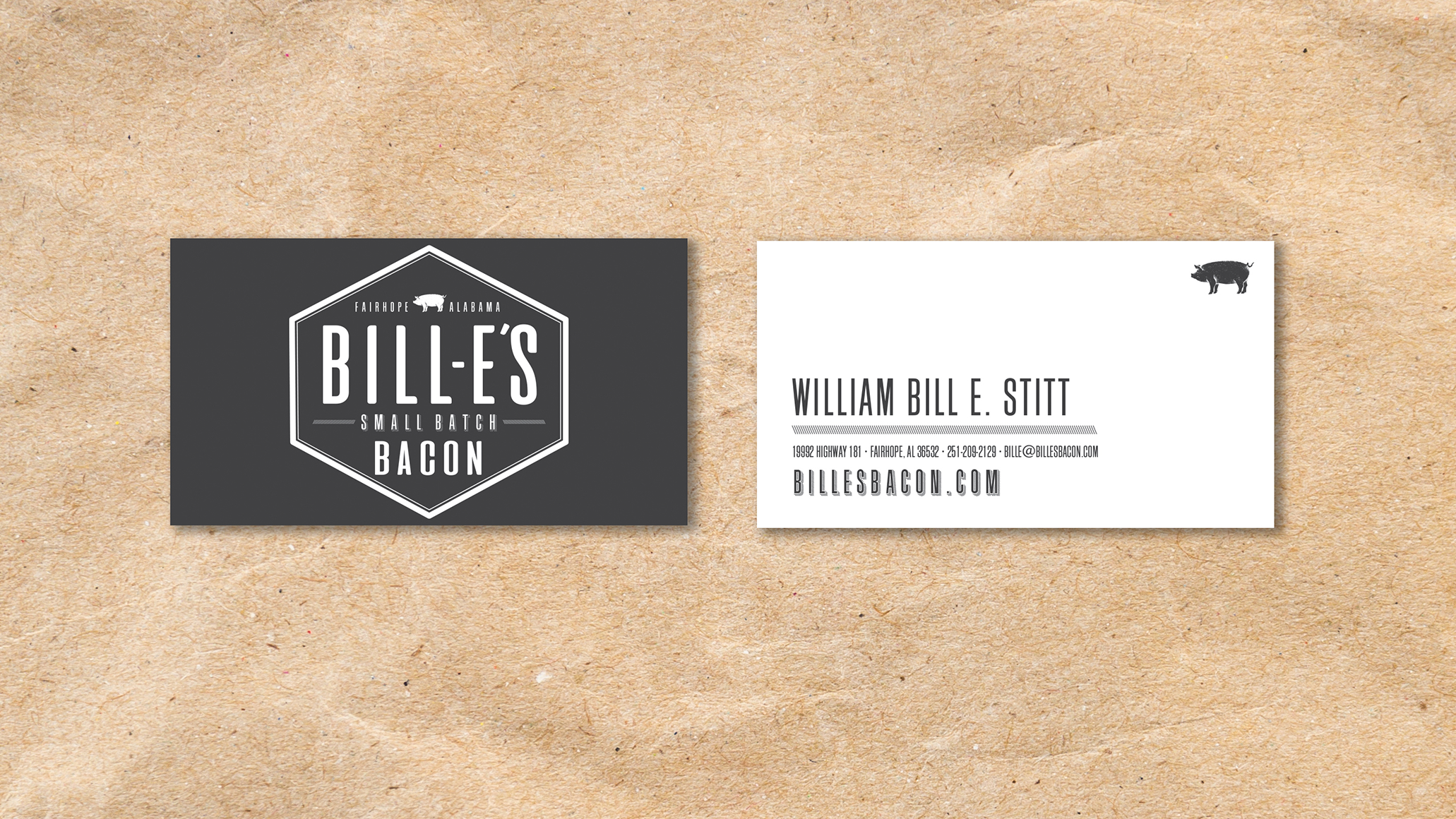 Bacon Business Cards