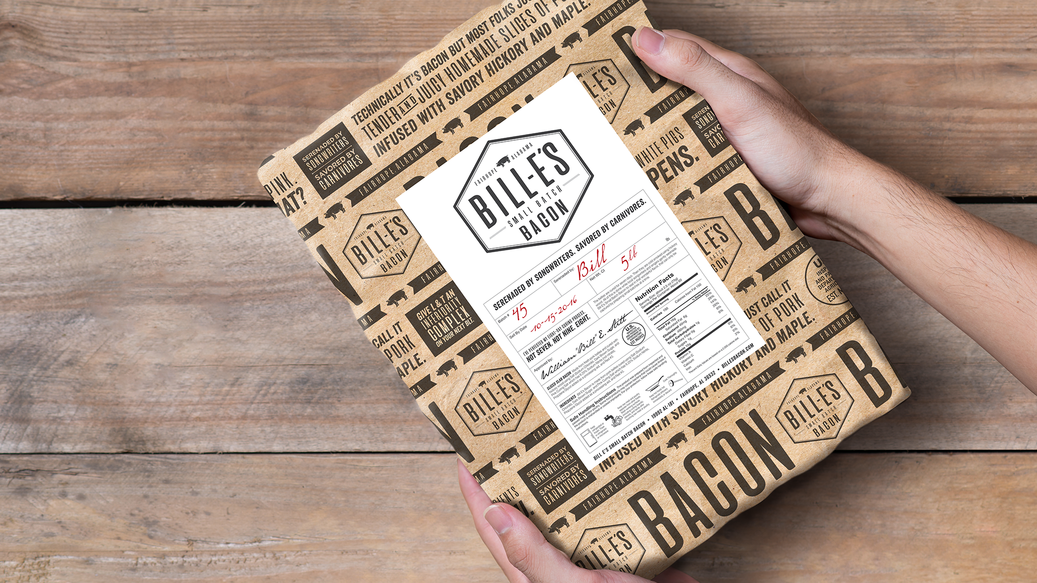 Bacon Packaging