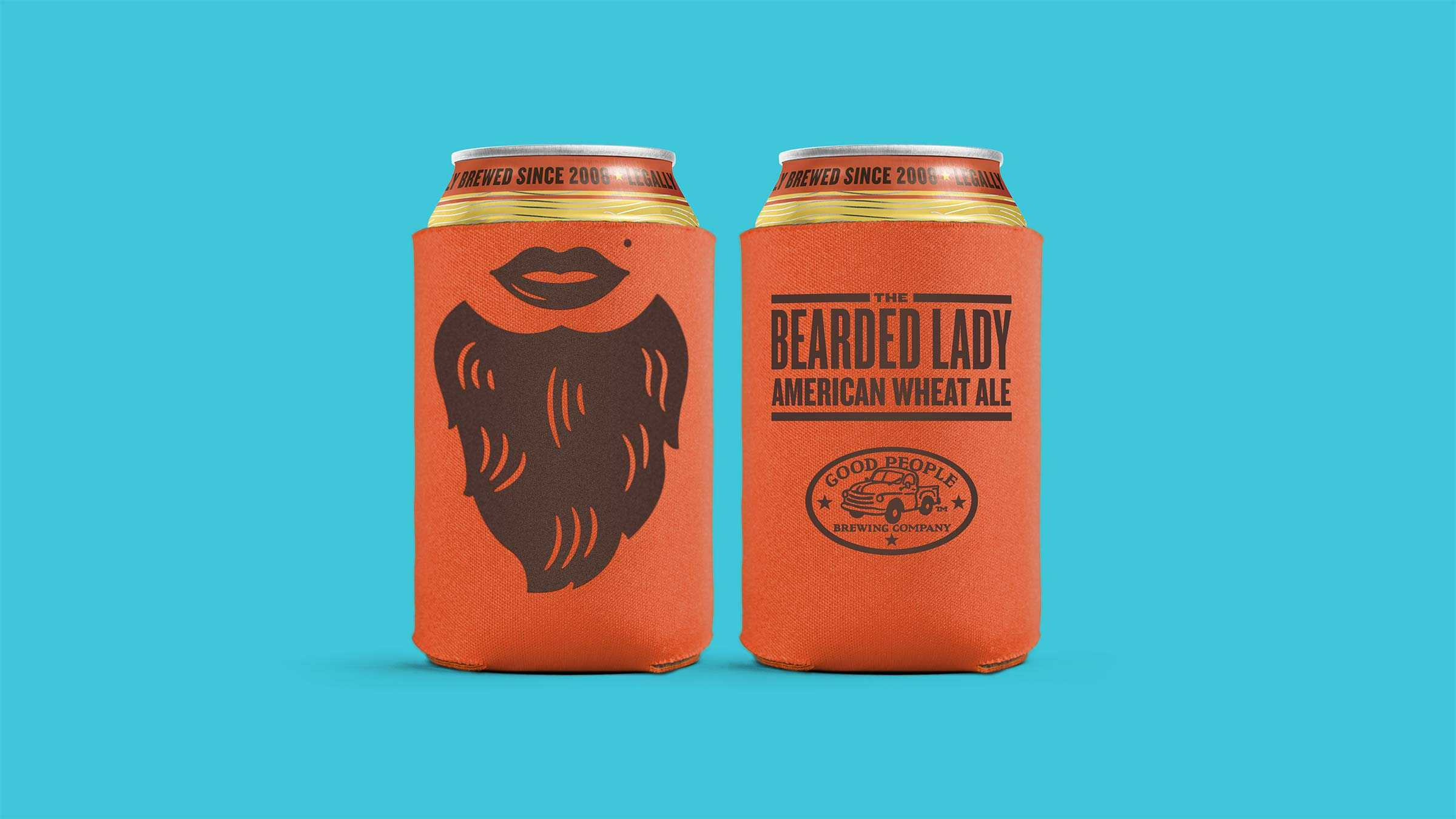 Gpb Bearded Koozie