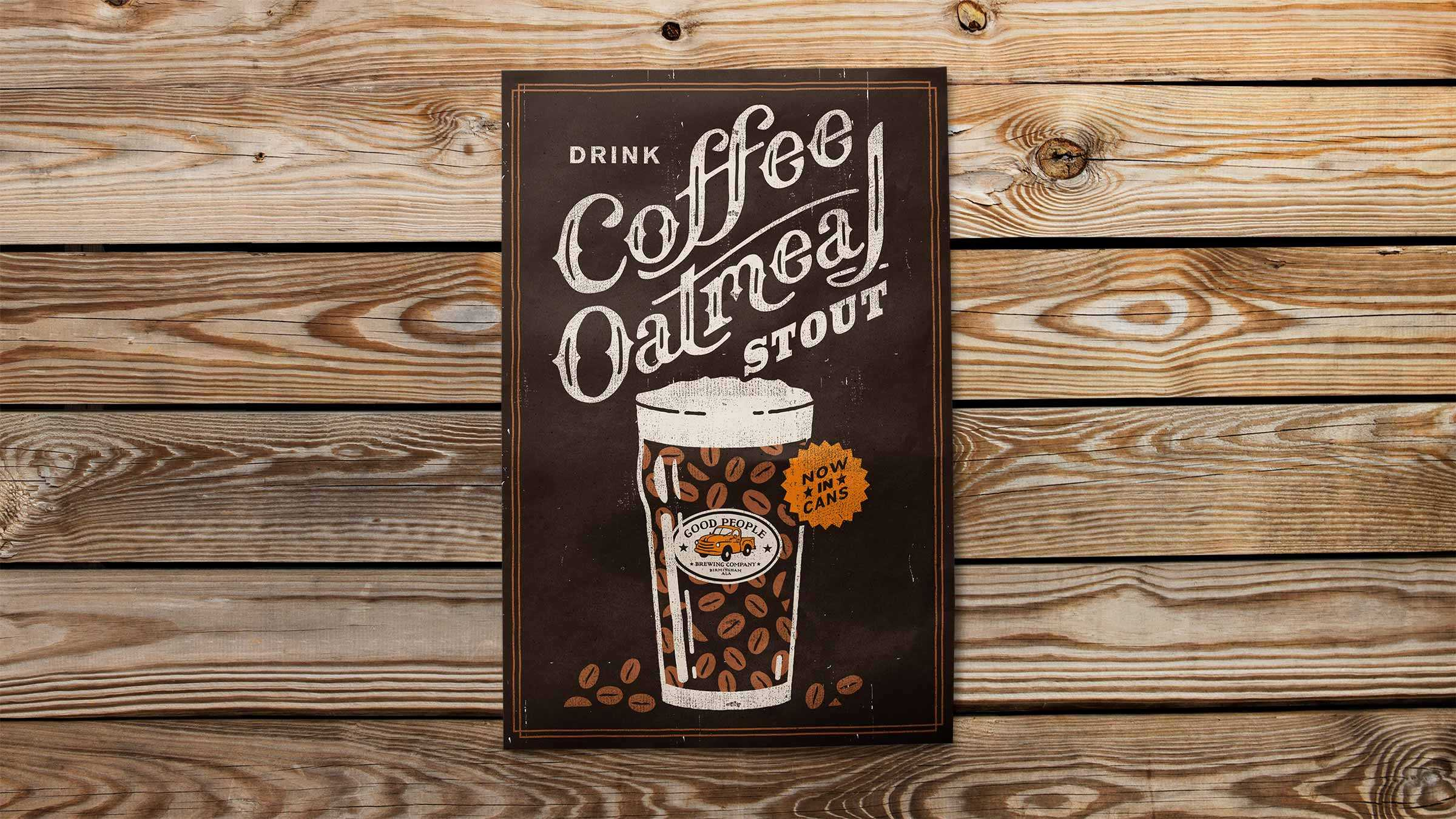Gpb Coffee Poster