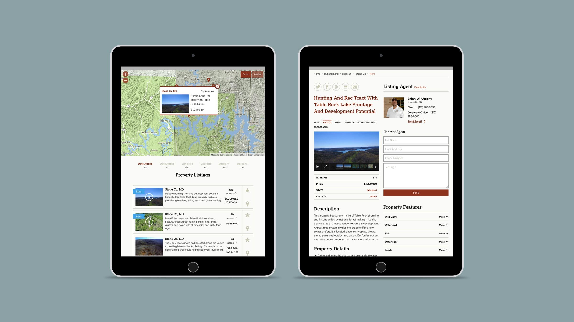Whitetail Ipad Property